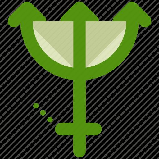 symbols, trident icon