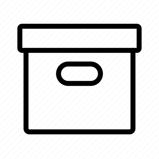 box, closed, package icon