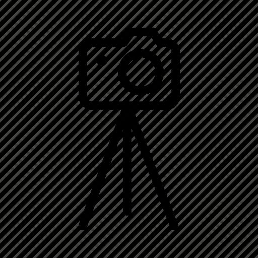 camera, photography, tripod icon