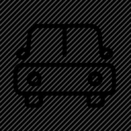 auto, automobile, car, front, transport, transportation icon