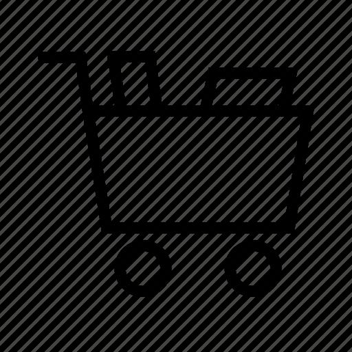 buy, cart, ecommerce, full, shop, shopping icon