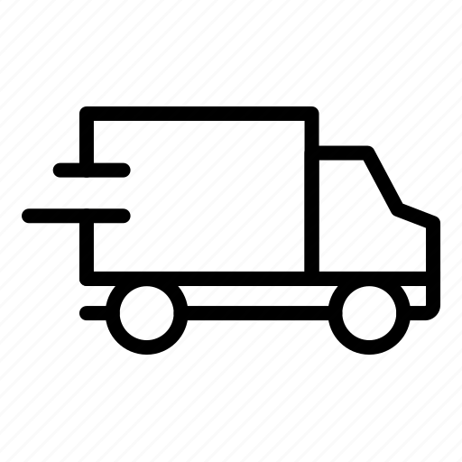 buy, ecommerce, shipping, speed, truck icon