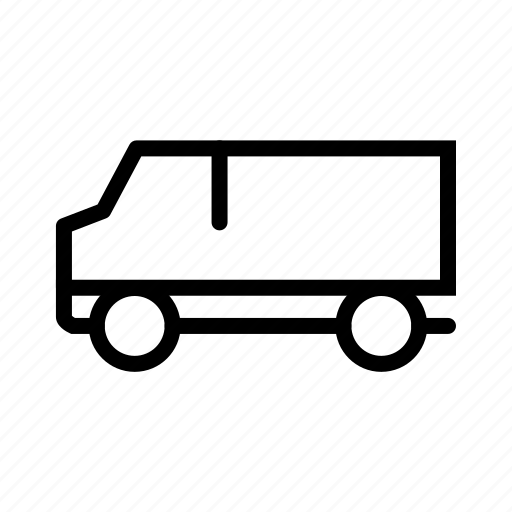 delivery, logistics, shipment, transport, transportation, truck, van icon