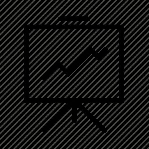 diagram, finance, financial, graph, whitescreen icon
