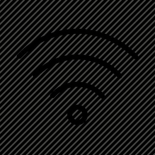 communication, fi, network, wi icon