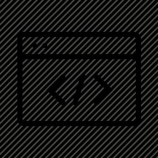 code, window, windows icon