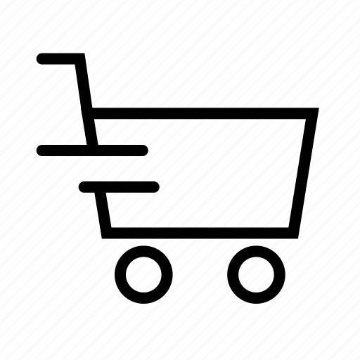 cart, right, speed icon