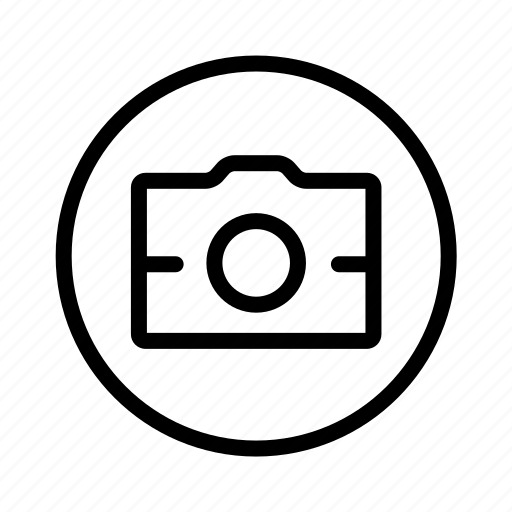 Camera, circle, photography icon - Download on Iconfinder