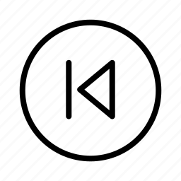 circle, player, prev icon
