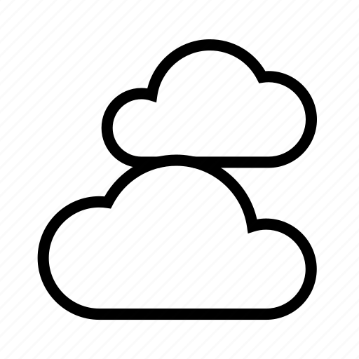 cloud, clouds, weather icon