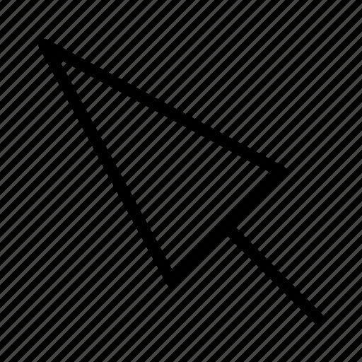 cursor, pointer icon