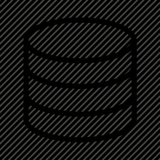 data, database, storage icon