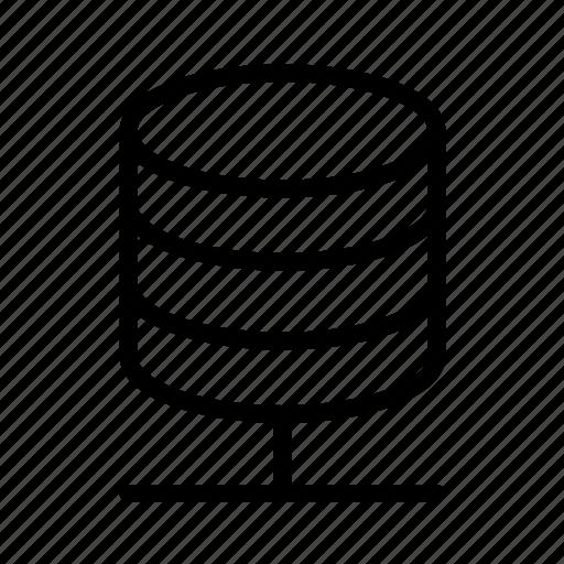 data, database, networked, storage icon