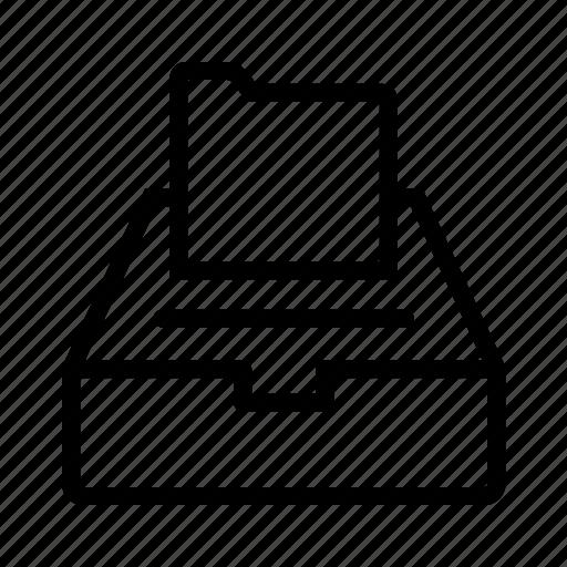 documents, drawer, folder icon