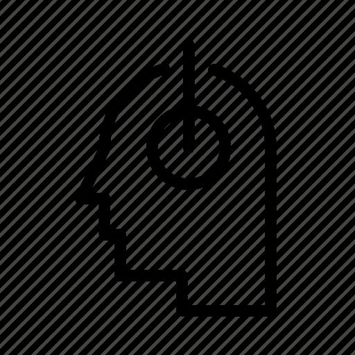 face, head, headset, man, music, sound icon