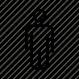 human, male, person icon