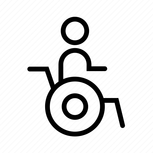 handicap, human, person icon
