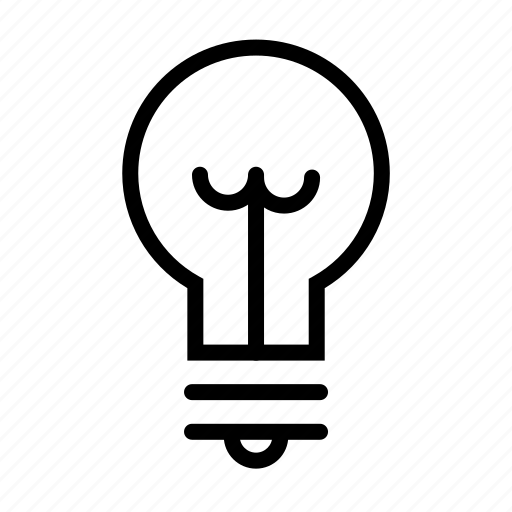 bulb, idea, light, lightbulb icon