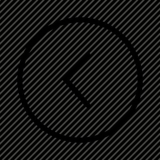 Navigation, arrow, left icon - Download on Iconfinder