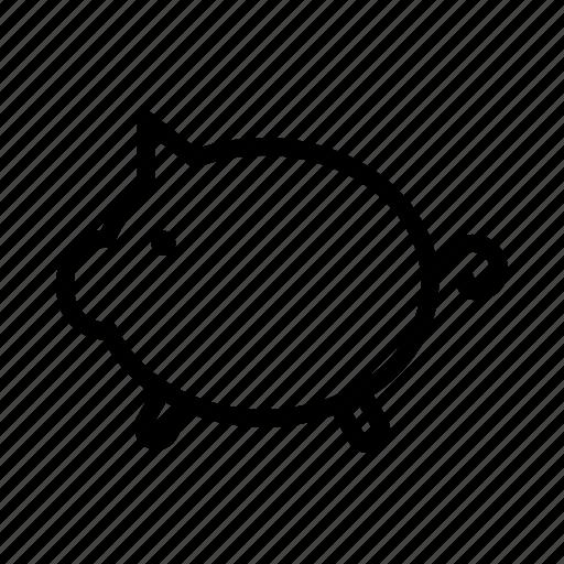 piggy, saving, savings icon