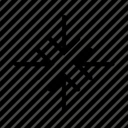 resize, scale, shrink icon