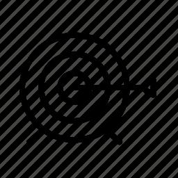 optimization, seo, target icon