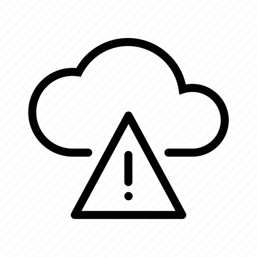 cloud, error icon