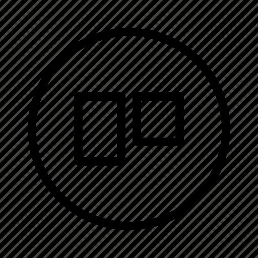 logo, social, trello icon