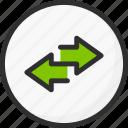 arrow, circle, sync, synchronization icon