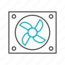 system, hadware, computer cooler, pc cooling icon, computer fan, case fan, cpu fan icon