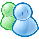 friends, group, messenger, msn, people, users icon