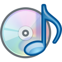 cdrom, musicplayer icon