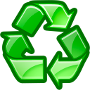 recycle, reuse icon