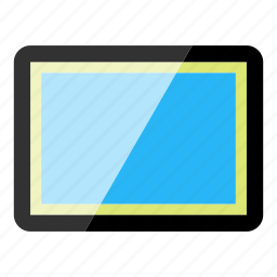 device, electronics, high tech, tablet, technology icon
