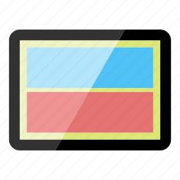 applications, apps, device, tablet, technology icon