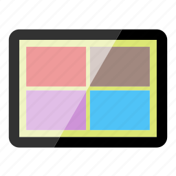 apps, device, electronics, tablet, technology icon