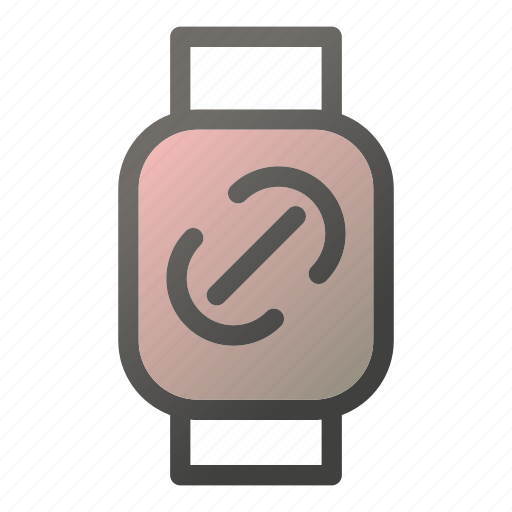 chain, device, link, mobile, smart, watch icon