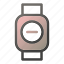 clear, device, mobile, smart, watch icon