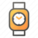 device, mobile, smart, watch icon