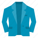 clothing, coat, fashion, suit icon