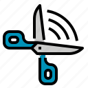 cut, equipment, scissors, tool icon