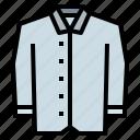 clothing, coat, fashion, shirt icon