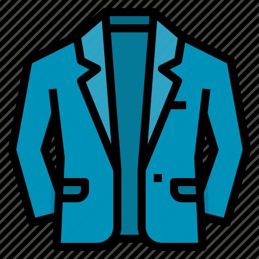 clothing, coat, fashion, suit icon