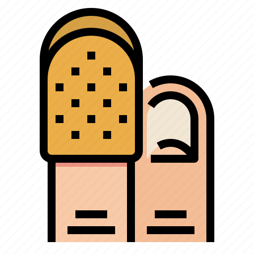 equipment, sewing, tailor, thimble, tool icon