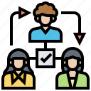 approval, business, process, system, workflows icon