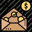 bonus, compensation, payment, reward, statements icon