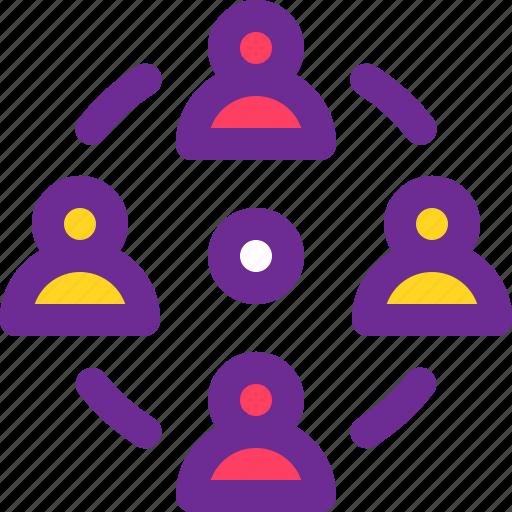 company, meeting, people, team, work icon
