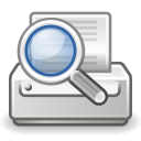 document, preview, print icon
