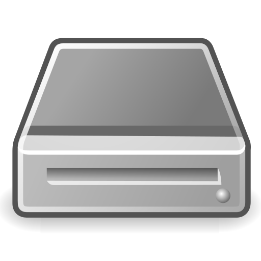 drive, media, removable icon