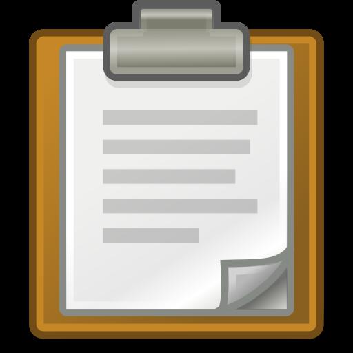 edit, paste icon